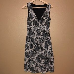 AGB  Black and white dress. Size 8